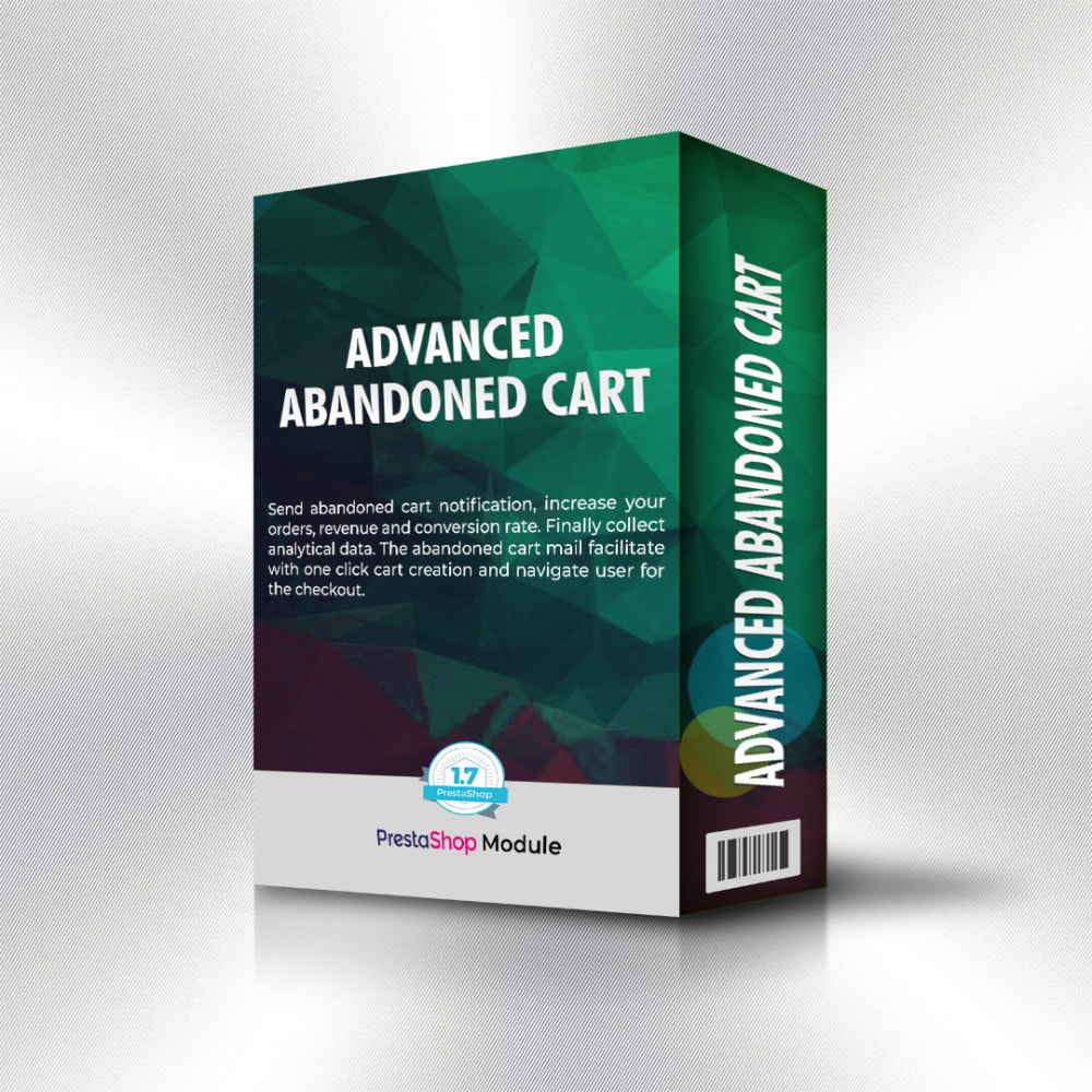 module - Remarketing & Shopping Cart Abandonment - Advanced abandoned cart with analytics - 2