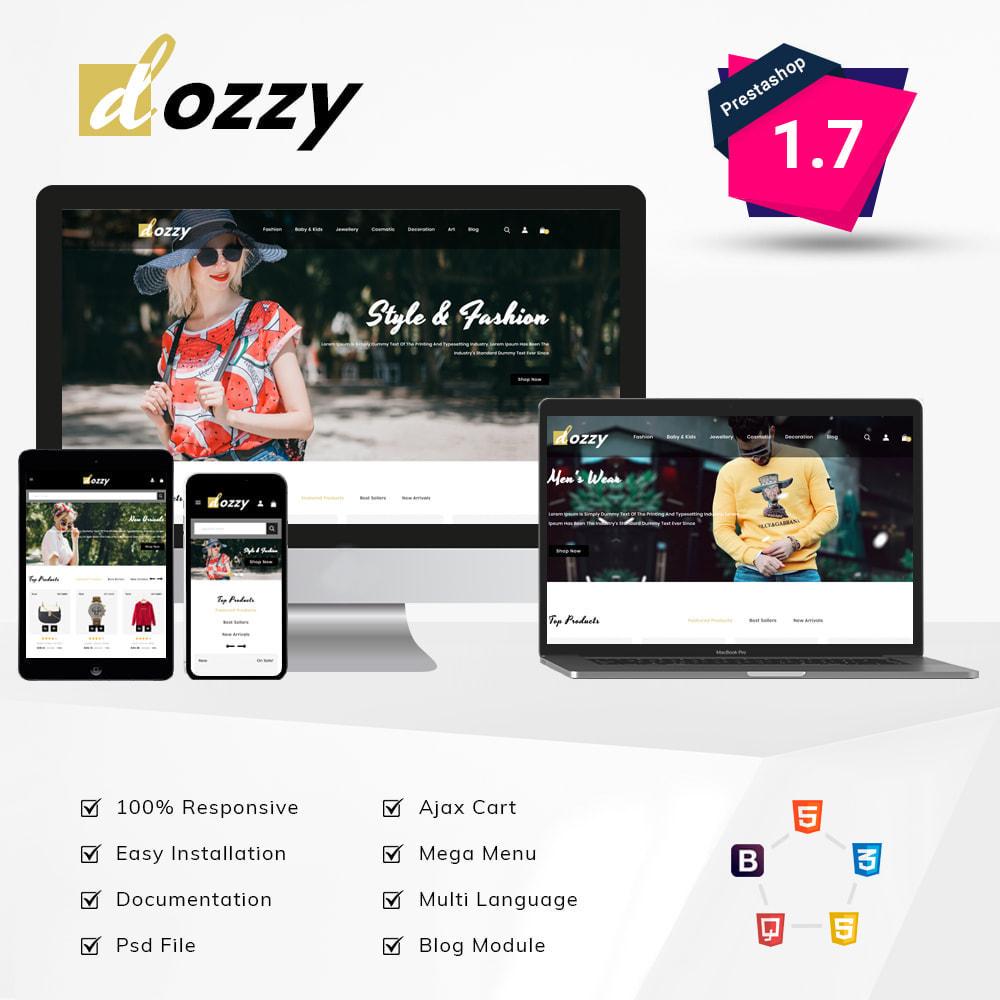 theme - Мода и обувь - Dozzy Fashion Shop - 1