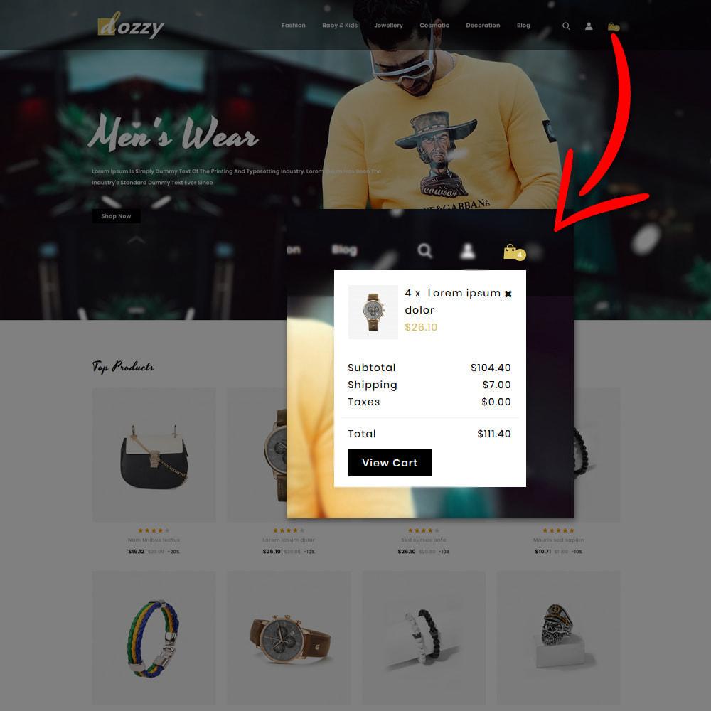 theme - Мода и обувь - Dozzy Fashion Shop - 5