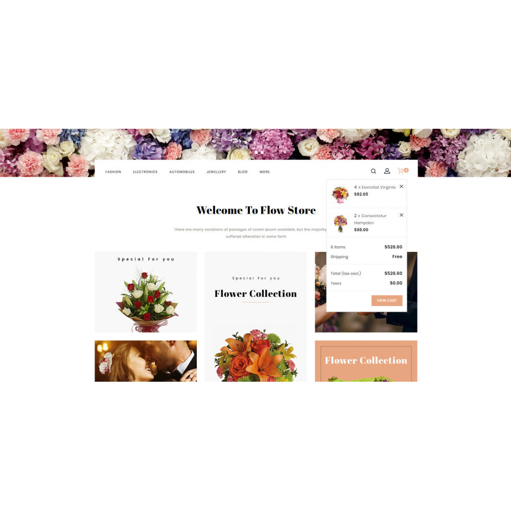 theme - Regali, Fiori & Feste - Flow - Flowers Store - 8