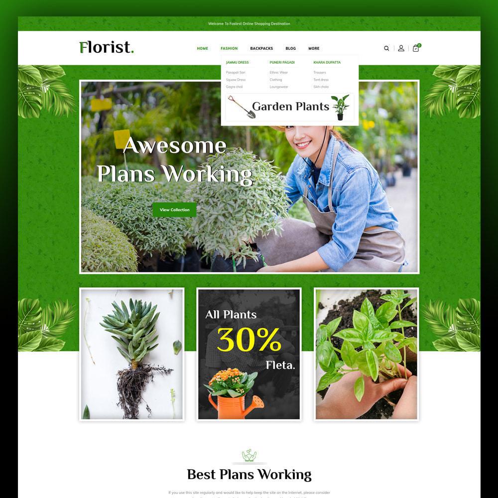 theme - Home & Garden - Florist - Plant Store - 2