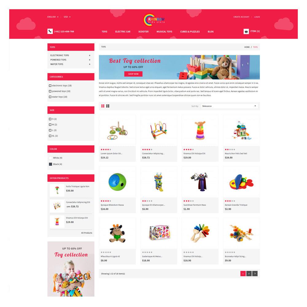 theme - Zabawki & Artykuły dziecięce - Rainbow Kids & Toys Store - 3