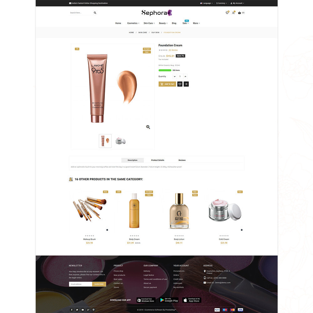 theme - Gezondheid & Schoonheid - Sephora Mega Bio–Cosmetics Health–Beauty Super Store - 14