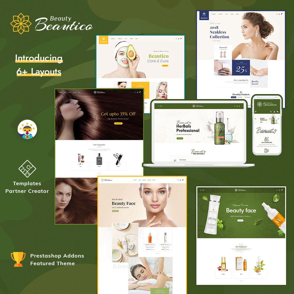 theme - Salud y Belleza - Beautico - Beauty & Cosmetics - 1