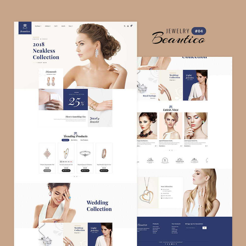 theme - Saúde & Beleza - Beautico - Beauty & Cosmetics - 5