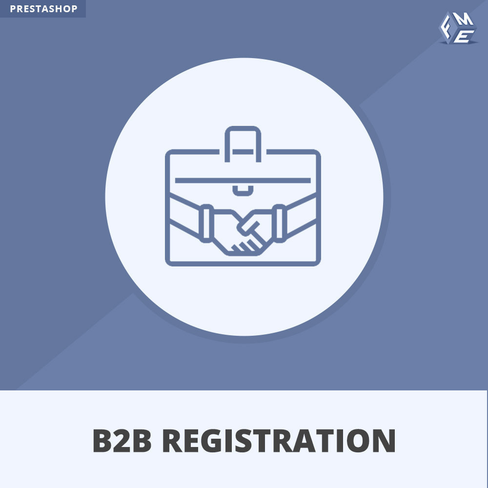 module - Registration & Ordering Process - B2B Registration - 1
