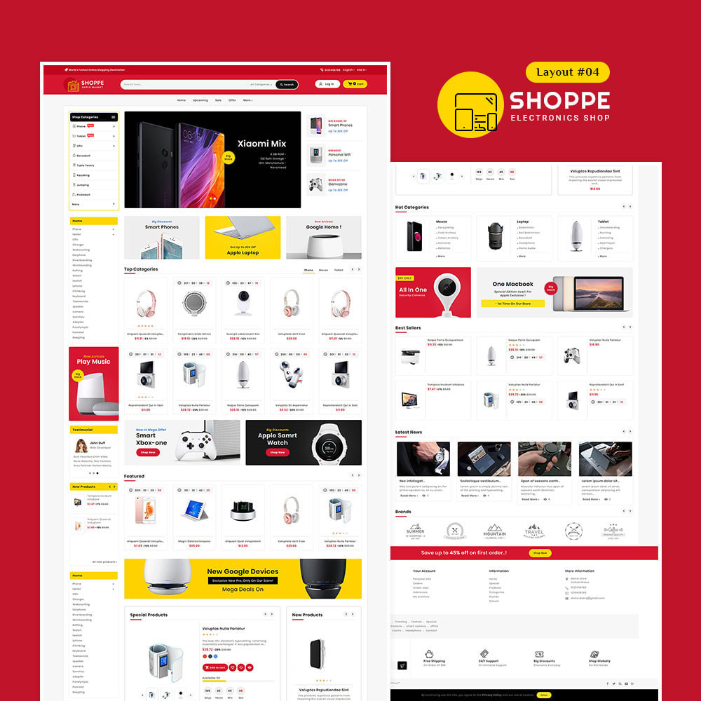 theme - Electronics & Computers - Shoppe - Multi-Purpose Mega Store - 5