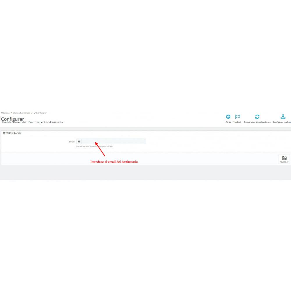 module - E-mails y Notificaciones - Reenviar correo electrónico de pedido al vendedor - 2