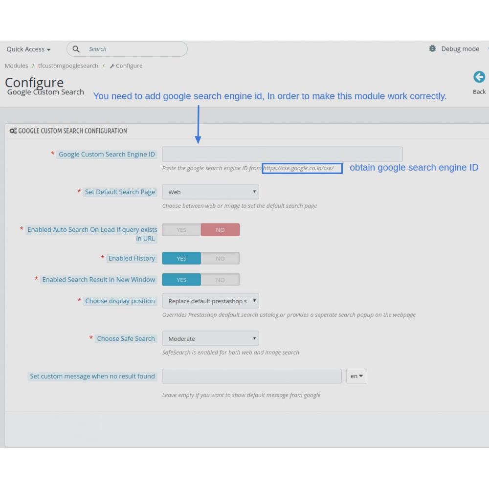 module - SEO (Indicizzazione naturale) - Google Custom Search Engine Pro - 2