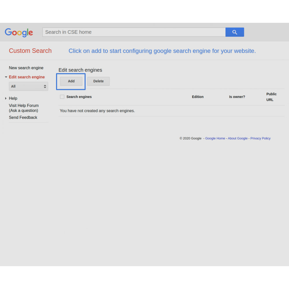 module - SEO (Indicizzazione naturale) - Google Custom Search Engine Pro - 8