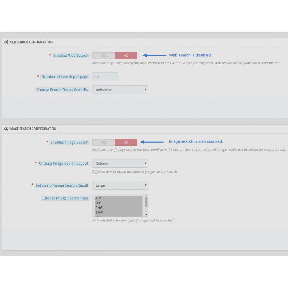 module - SEO (Indicizzazione naturale) - Google Custom Search Engine Pro - 20