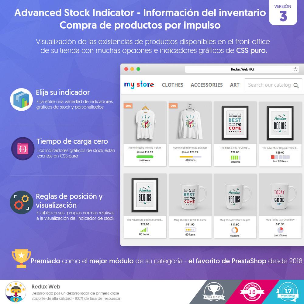 module - Gestión de Stock y de Proveedores - Información del inventario - Compra por impulso - 1