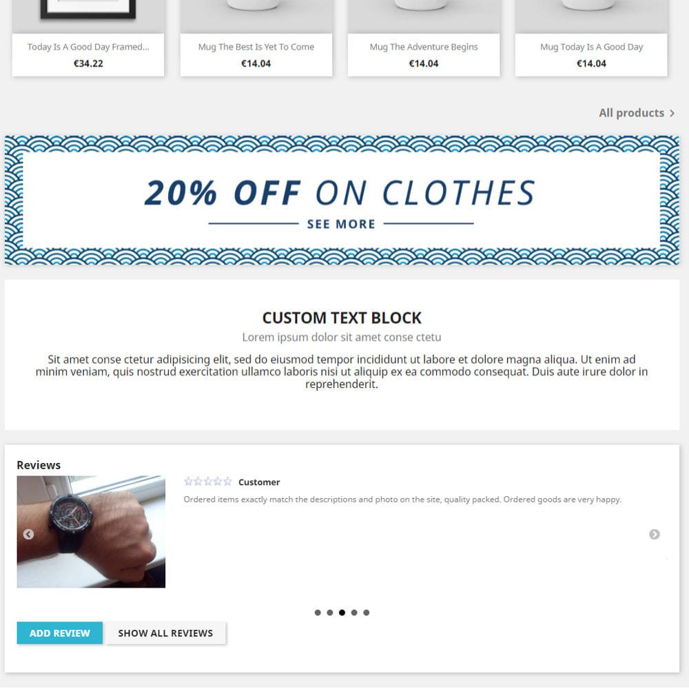 module - Opinie klientów - Recenzje na temat Twojego sklepu / produktu - 2