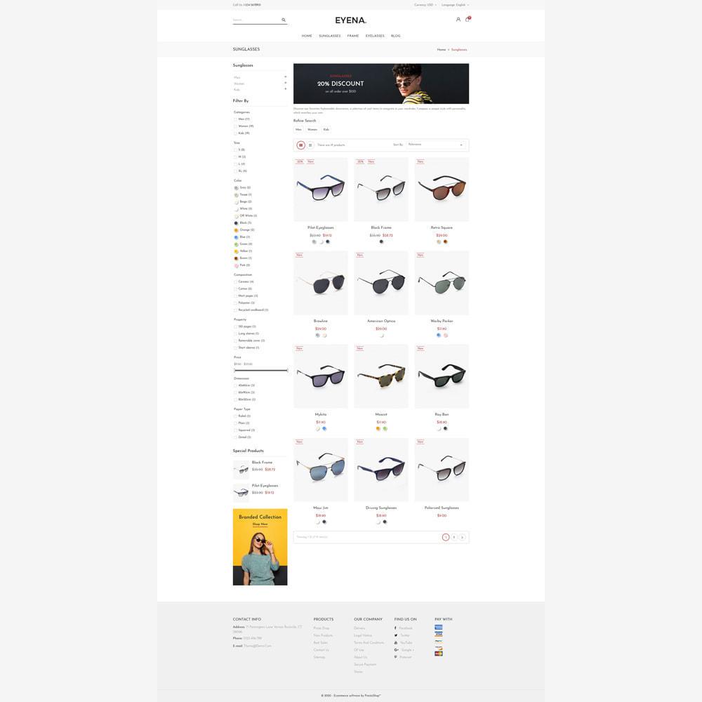 theme - Moda & Obuwie - Eyena Goggles Store - 3