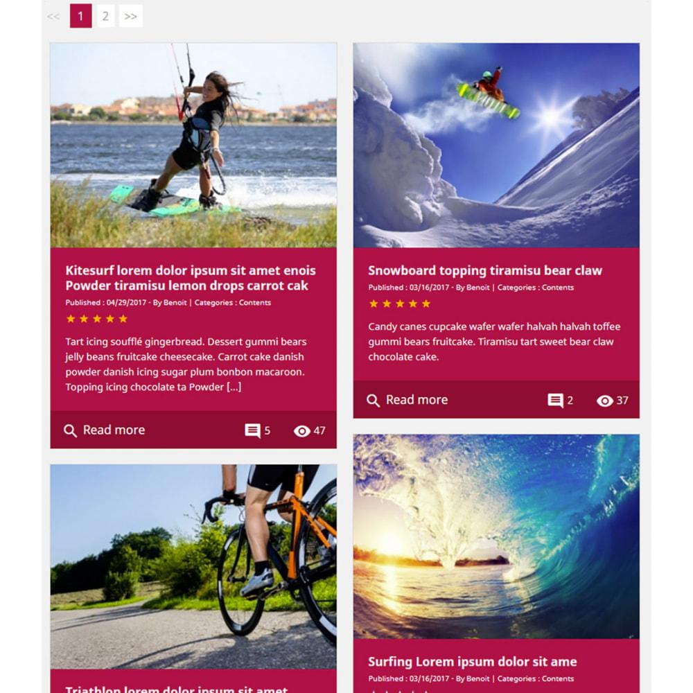 module - Blog, Foro y Noticias - Professional blog - 11