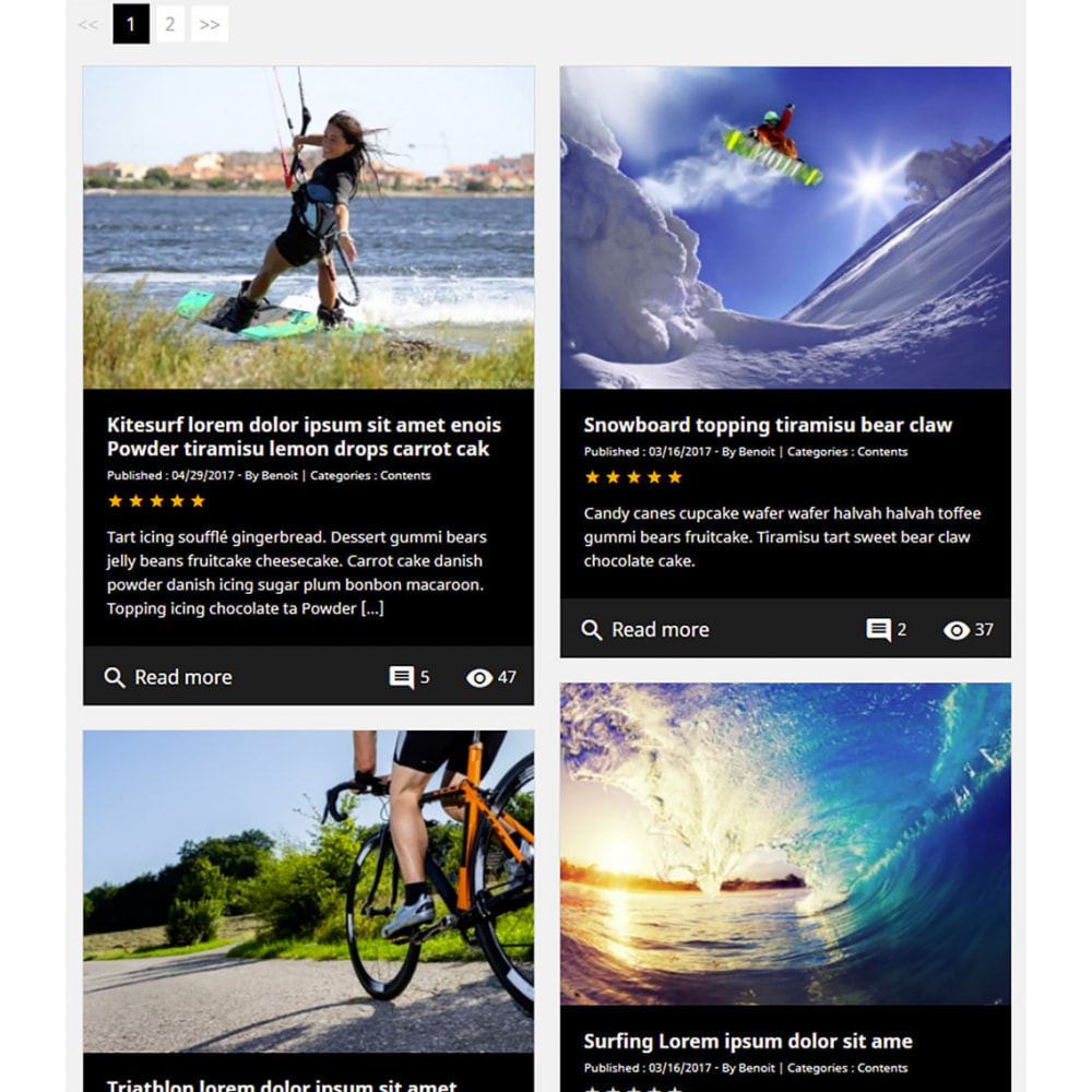 module - Blog, Forum & News - Professionelles Blog Modul - 10
