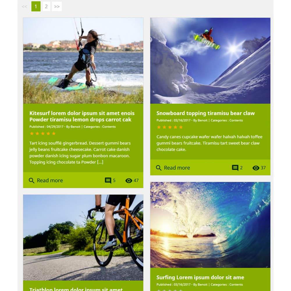module - Blog, Forum & News - Professionelles Blog Modul - 12
