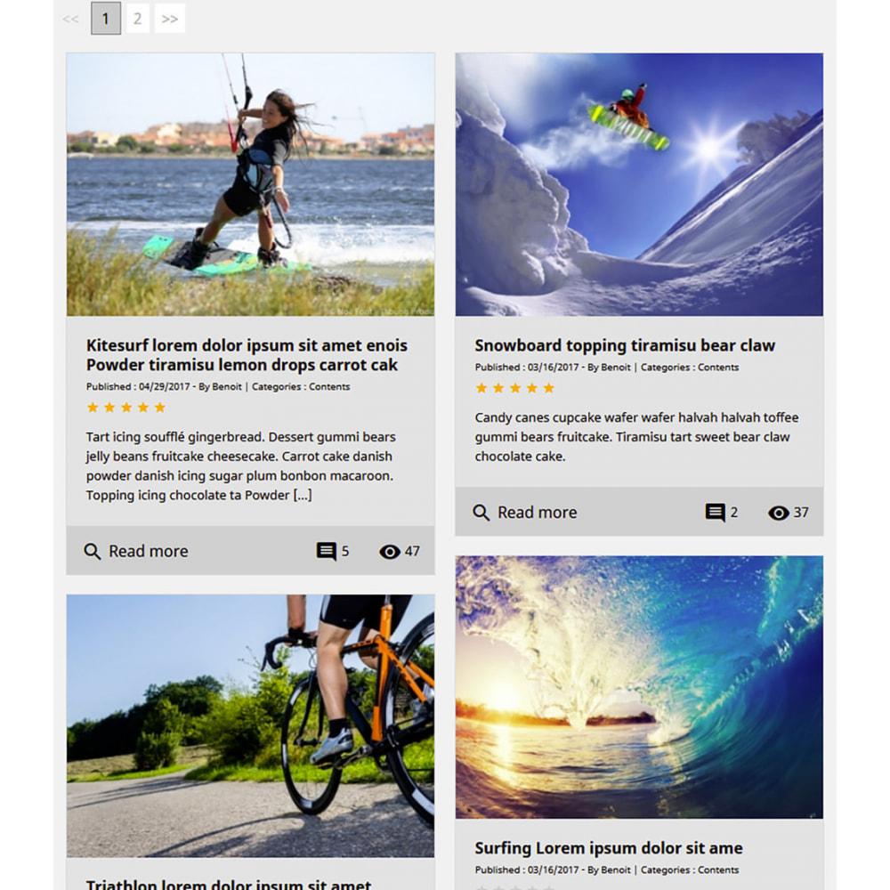 module - Blog, Forum & News - Prestablog: un blog professionale per il tuo negozio - 9