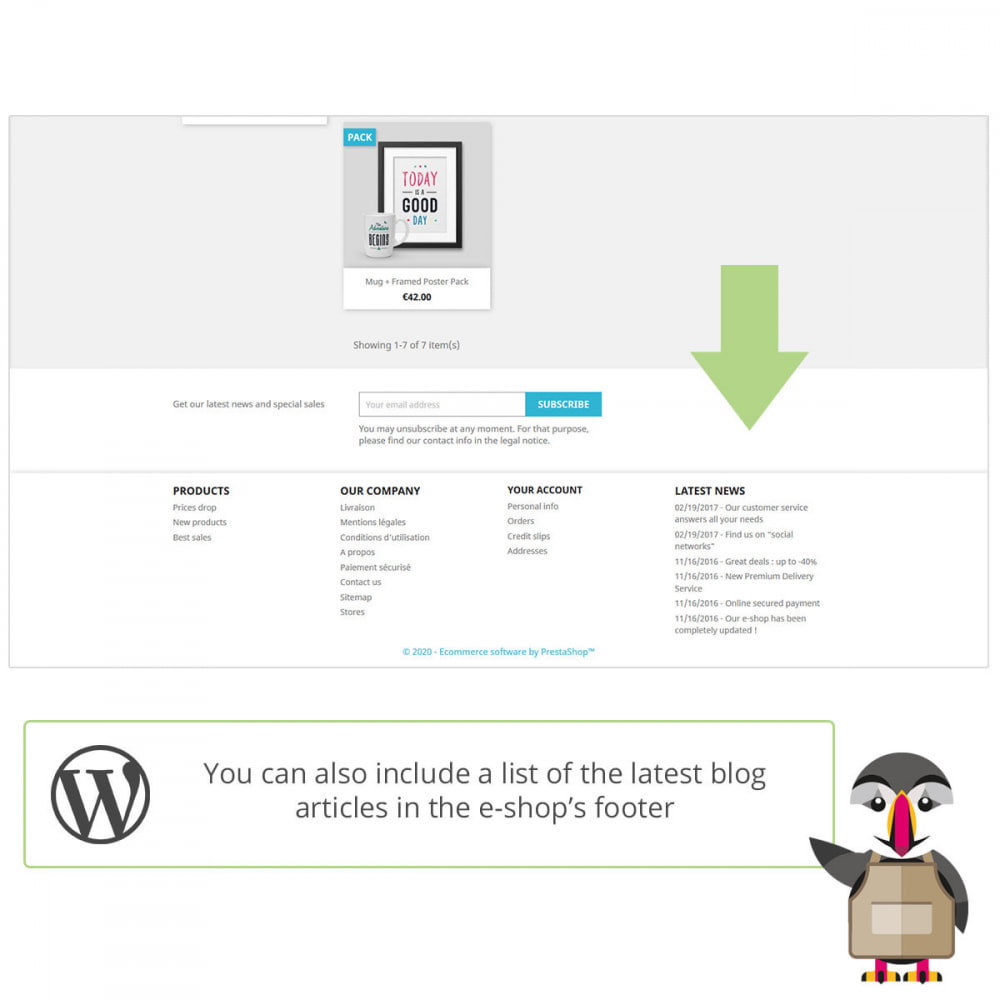 module - Blog, Forum & Nieuws - My Wordpress posts - 3