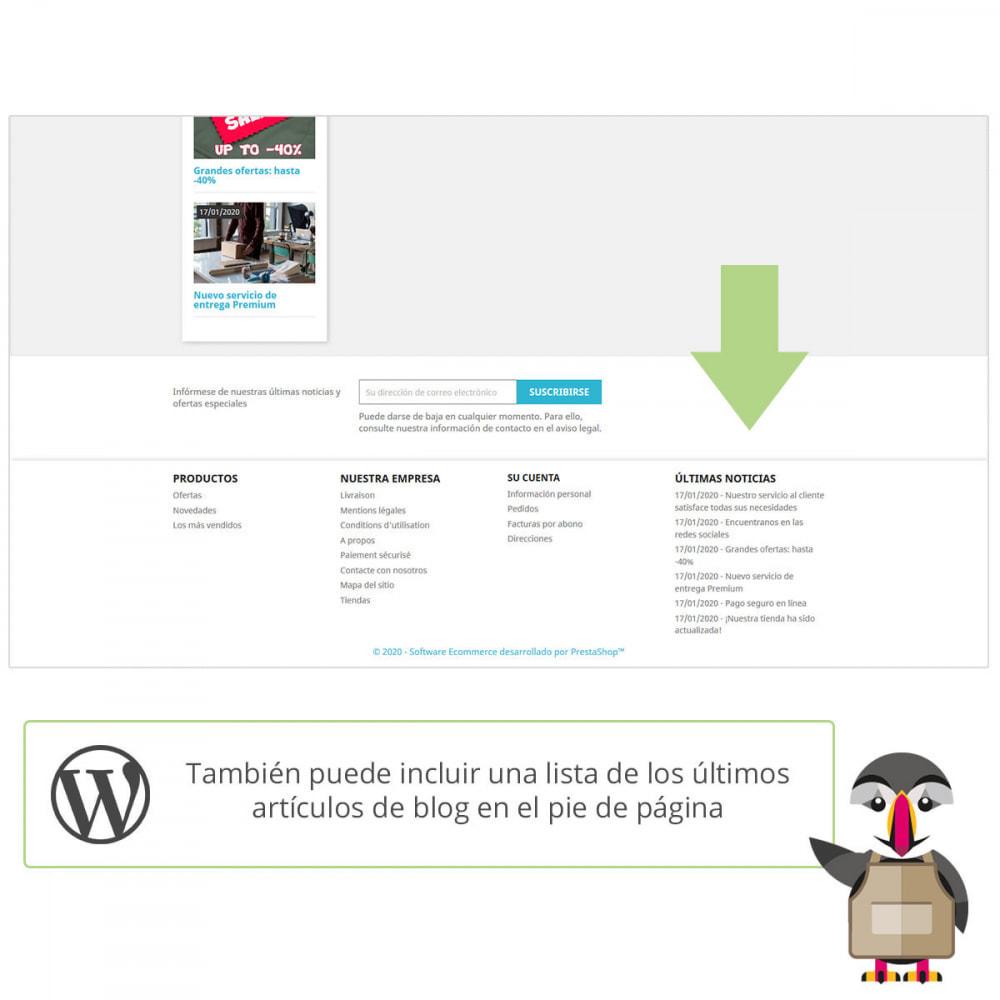 module - Blog, Foro y Noticias - Mis entradas de Wordpress - 3