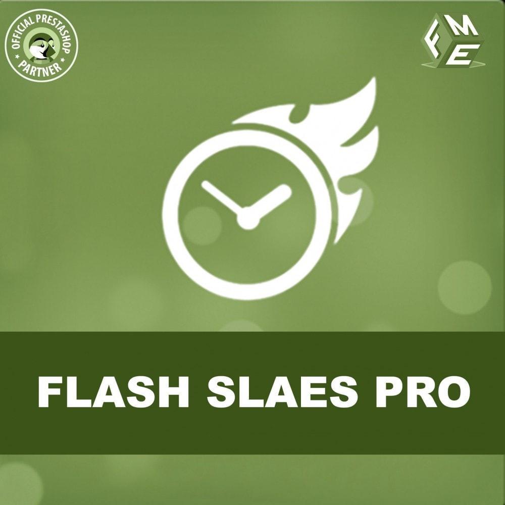 module - Flash & Private Sales - Flash Sales Pro - Werbeverkauf mit Countdown-Timer - 1