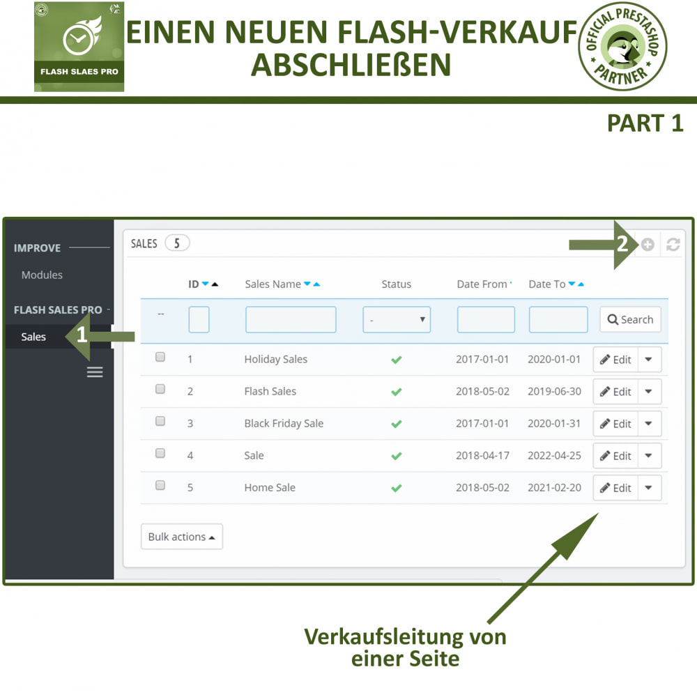 module - Flash & Private Sales - Flash Sales Pro - Werbeverkauf mit Countdown-Timer - 9
