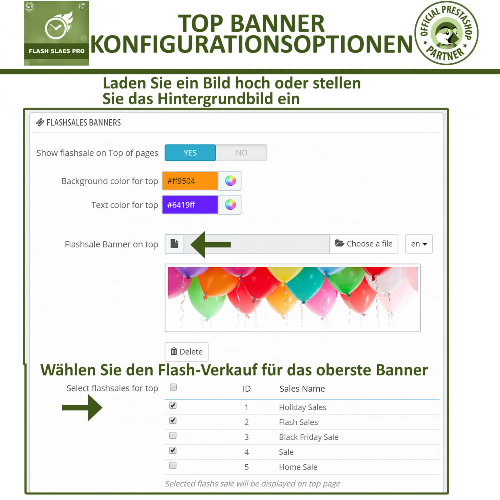 module - Flash & Private Sales - Flash Sales Pro - Werbeverkauf mit Countdown-Timer - 17