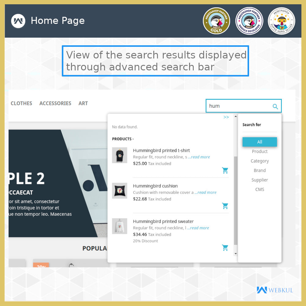 module - Search & Filters - Advanced Search - 4