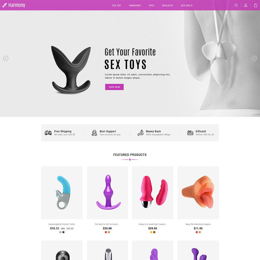 theme - Нижнее белье и товары для взрослых - Massive Adult - магазин нижнего белья, сексуальный - 3