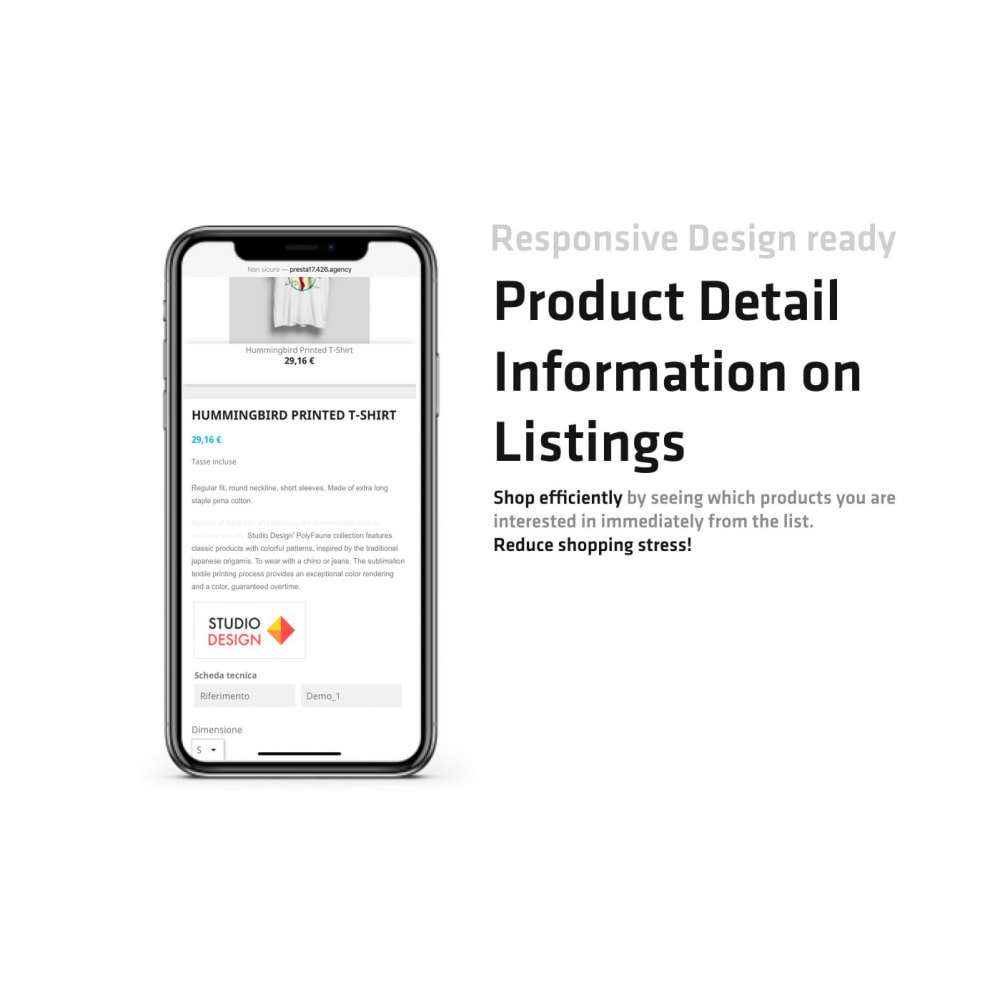 module - Additional Information & Product Tab - Product Detail Information on Listings - 3