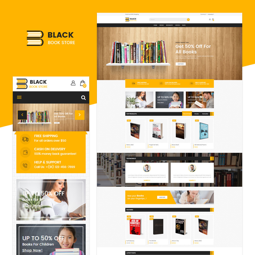theme - Art & Culture - Livre - Responsive Store - 1