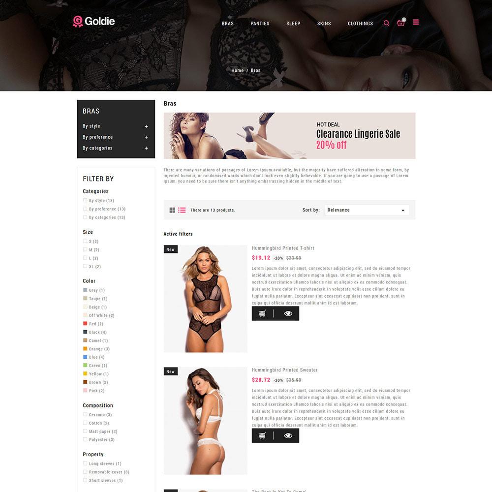 theme - Lenceria y Adultos - Sex Love - Lingerie Adult Panties Store - 5