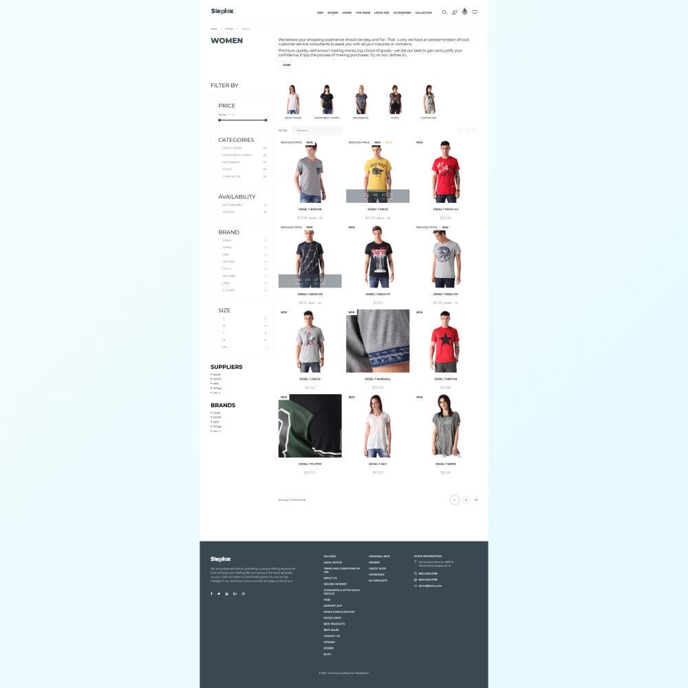 theme - Mode & Schuhe - Steplex - T-Shirt Store - 3