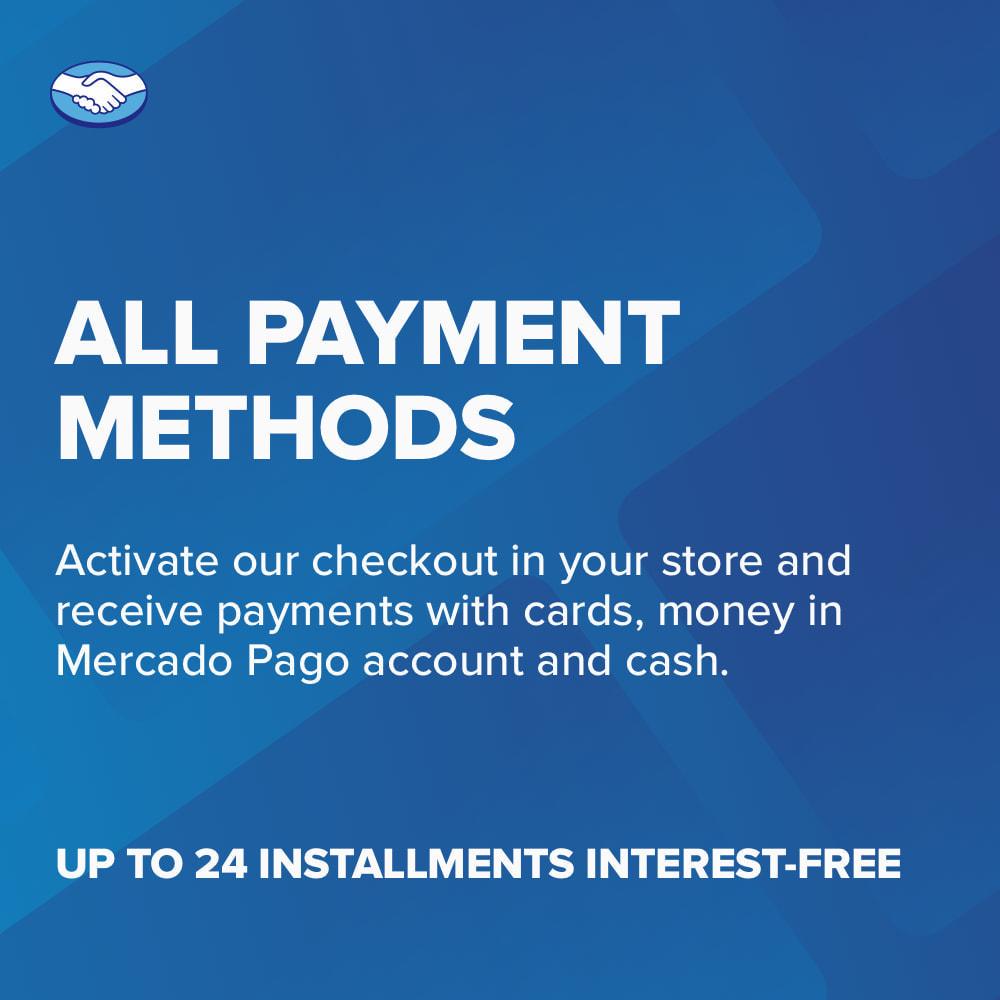 module - Paiement par Carte ou Wallet - Mercado Pago - 4