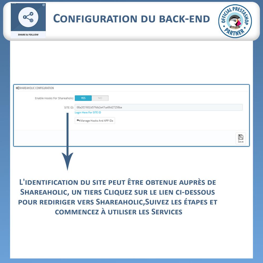 module - Boutons de Partage & Commentaires - Partagez et Suivez - Widget Social - 6