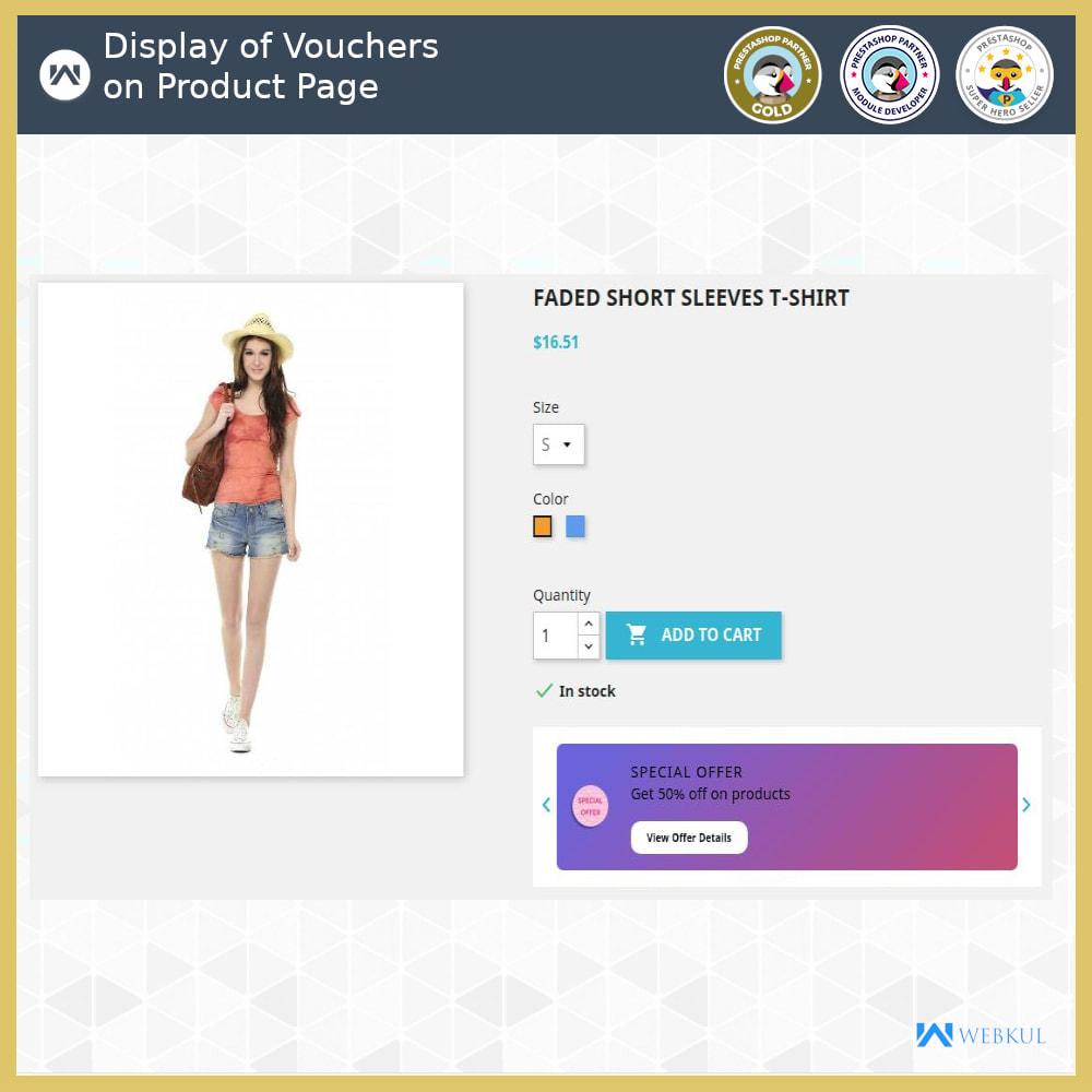 module - Promociones y Regalos - Voucher Promotion | Coupon Advertisement - 3