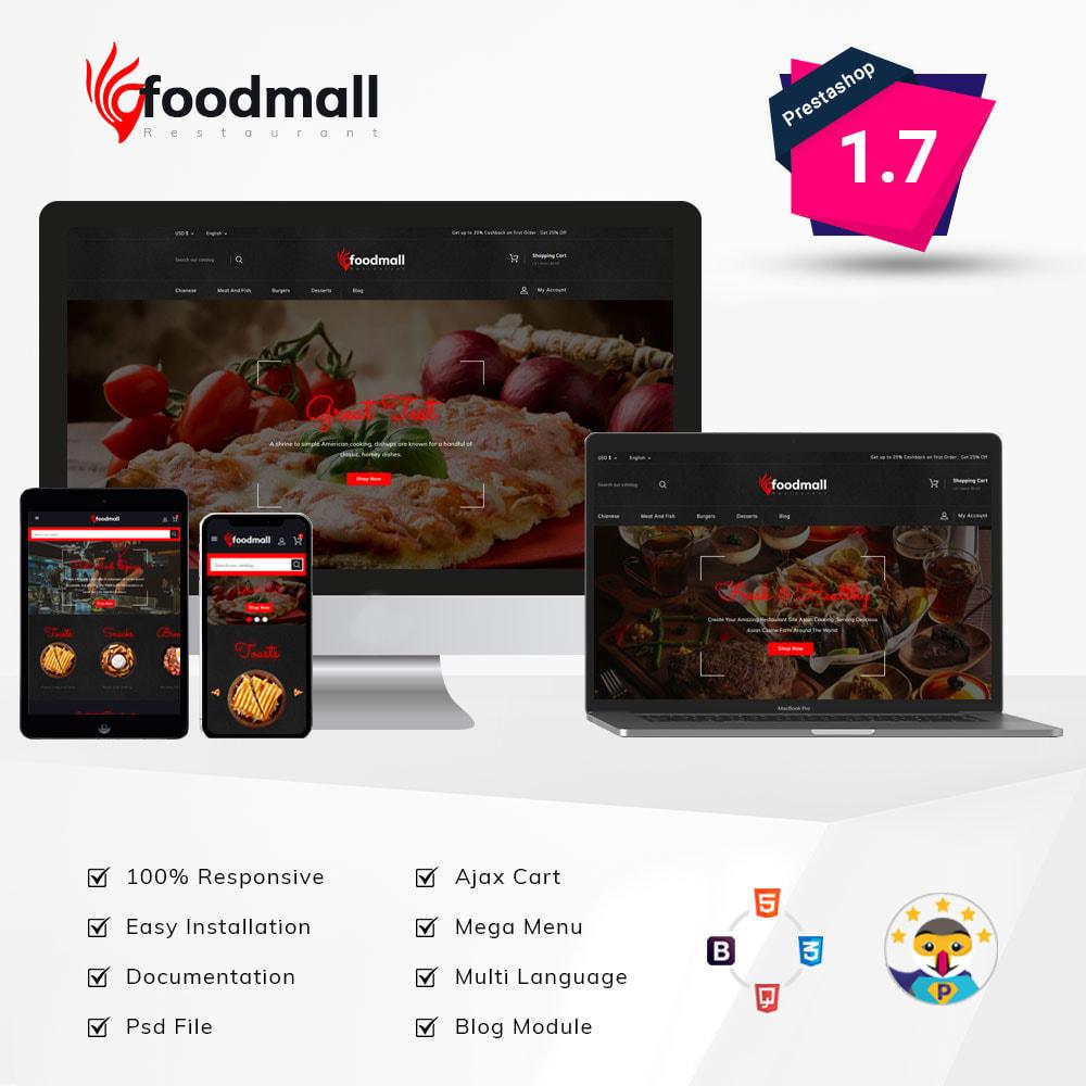 theme - Food & Restaurant - Foodmall Online Food Shop - 1