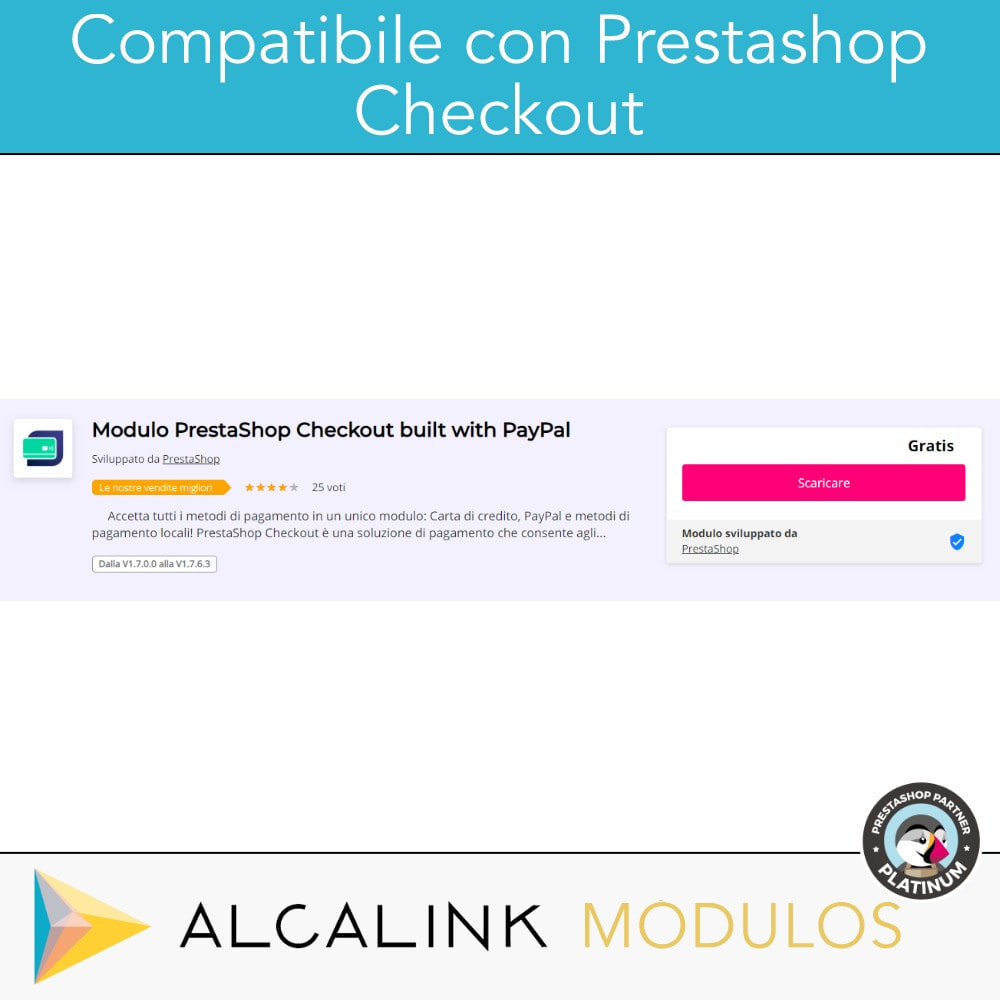 module - Pagamento con Carta di Credito o Wallet - Pagamento con supplemento - Compatibile PS Checkout - 2