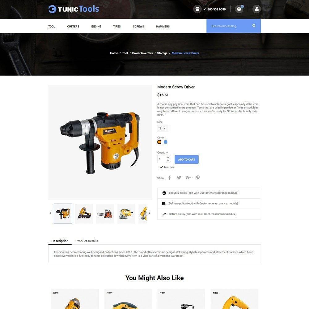 theme - Home & Garden - Garden Tool - Auto Parts Motorcycle  Store - 5