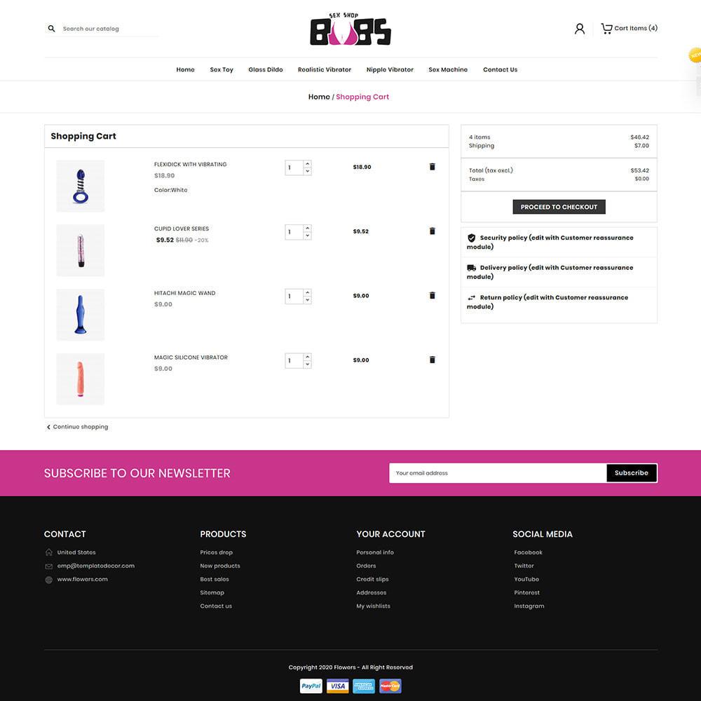 theme - Lingerie & Erwachsene - Boobs Sex Store - 7