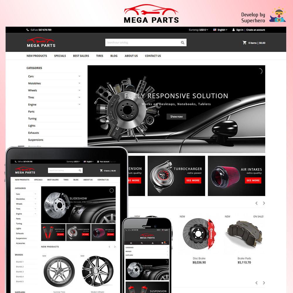 theme - Samochody - Mega Parts Store - 1