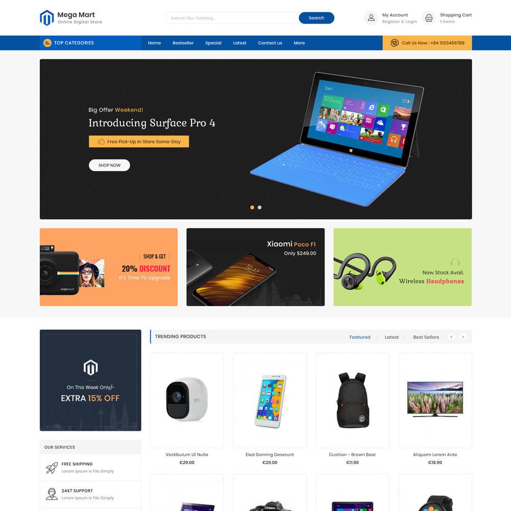 theme - Electrónica e High Tech - Mega Mart Electronics Store - 2