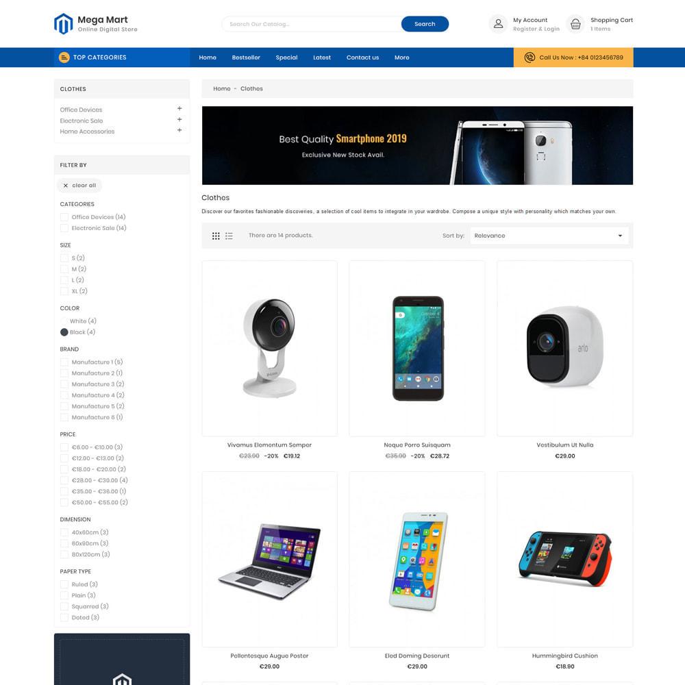 theme - Electrónica e High Tech - Mega Mart Electronics Store - 3