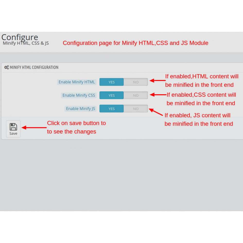module - Website Performance - Minify HTML, CSS & JS Pro - 2
