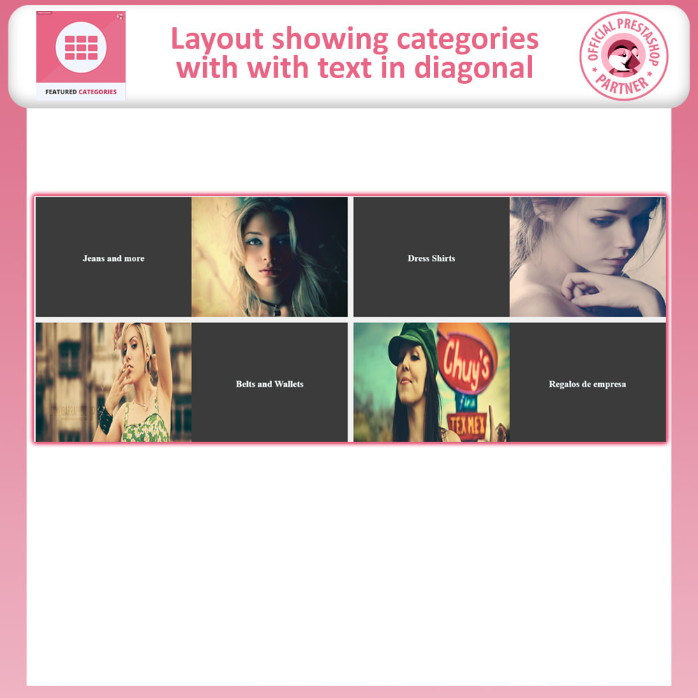 module - Page Customization - Featured Categories - 6