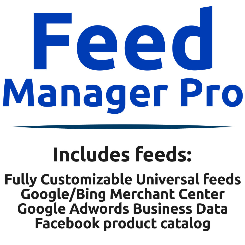 module - Betaalde vermelding & Lidmaatschap - Feed Manager Pro (Product feeds for all platforms) - 1