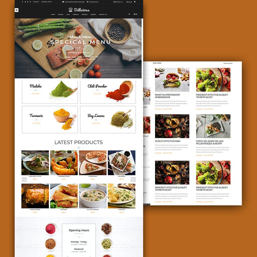 theme - Żywność & Restauracje - Online Restaurant - 1