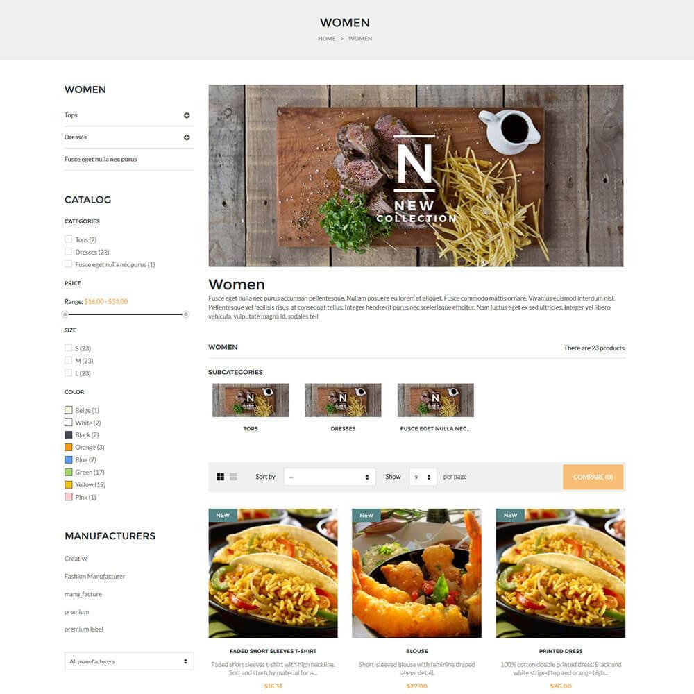 theme - Żywność & Restauracje - Online Restaurant - 5