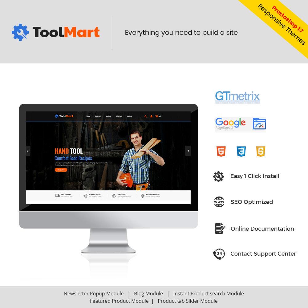 theme - Automotive & Cars - Tool Auto - Car Motor Spare Store - 1