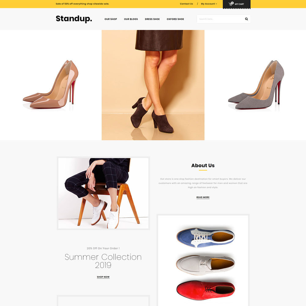 theme - Fashion & Shoes - Standup - The Shoes Store - 3